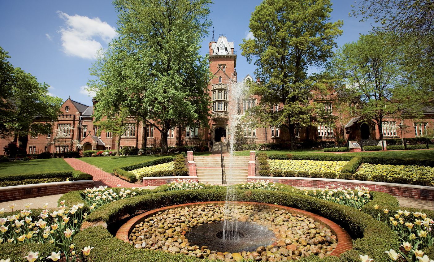 Old Main at Bethany College