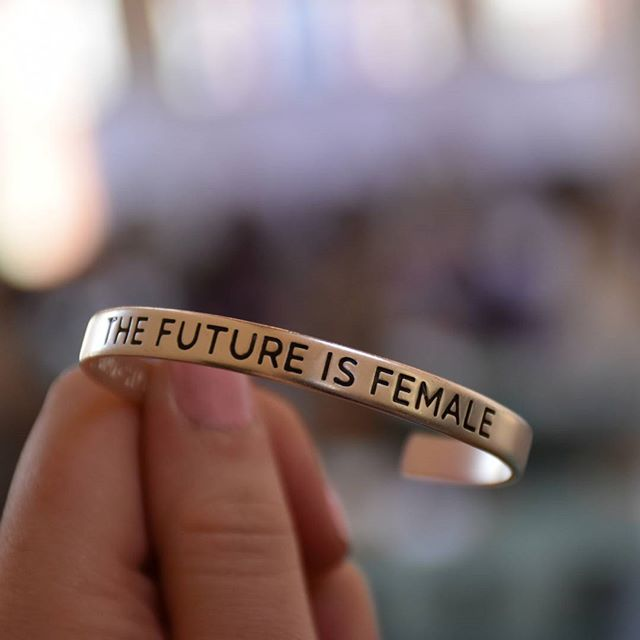 Women students and alumnae officially took over Bethany for Women & Leadership this weekend! This bracelet is a reminder of what the event's discussion was all about. #BethanyNation
