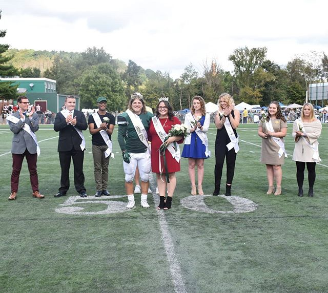 Congratulations to our homecoming king and queen, Joseph Fiasco and Mariah Forsythe! #ONEBethany